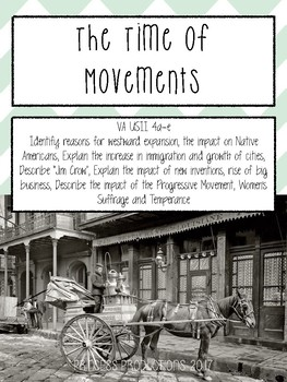 A Time of Movements - Early 1900s