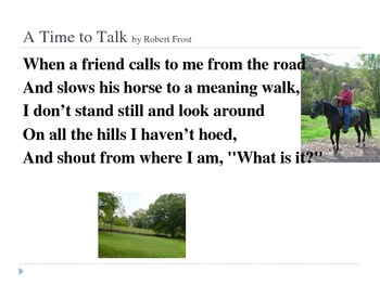 """A Time to Talk"" PowerPoint"