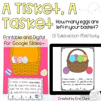 A Tisket, A Tasket {An Easter themed Math Craftivity}