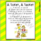 A Tisket, A Tasket ~ Printable Song Lyrics for Poetry Journals & Reading Fun!