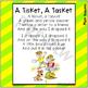 A Tisket, A Tasket ~ Printable Song Lyrics for Poetry Jour