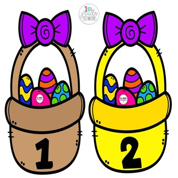 A Tisket..A Tasket  What's in YOUR Basket? Math sorting for numbers 1-20