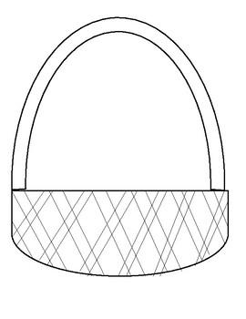 A Tisket, A Tasket subtraction and addition basket