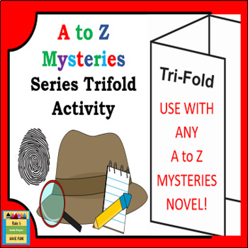 A To Z Mysteries Book Series Trifold Activity
