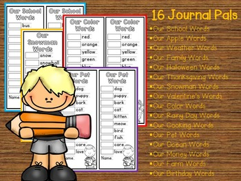 Vocabulary Activity for Kindergarten, First and Second Grade