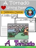 A+ Tornado ... Writing Paper