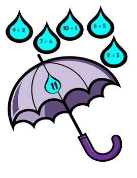 A Total Downpour (An  Basic Addition Game)