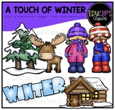 A Touch Of Winter Clip Art Bundle {Educlips Clipart}