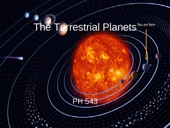 A Tour through the Terrestrial Planets