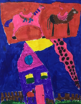 A Toy's Story: Art Lesson for Lower Elementary