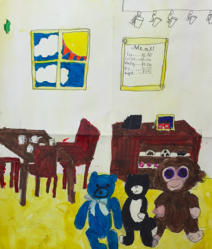 A Toy's Story: Art Lesson for Upper Elementary