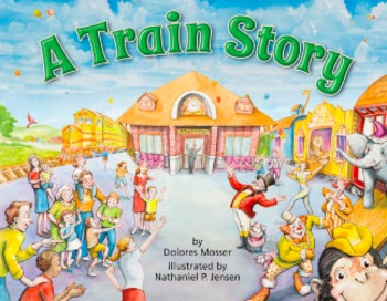 A Train  Story, Educational Material and Activities Pages