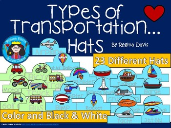 A+ Transportation: Different Types... Hats