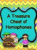 A Treasure Chest of Homophones