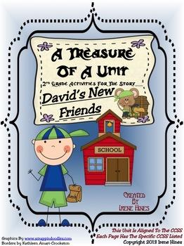 Treasures ~ A Treasure Of A Unit For 2nd Grade: David's New Friends
