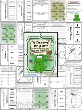 Treasures ~A Treasure Of A Unit For 2nd Grade~Dig,Wait,Listen:Desert Toad's Tale