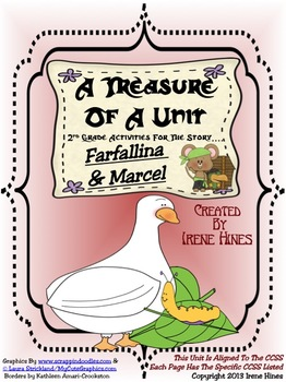 Treasures ~ A Treasure Of A Unit For 2nd Grade: Farfallina & Marcel