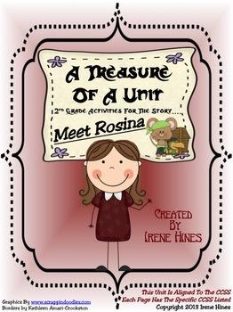 Treasures ~ A Treasure Of A Unit For 2nd Grade: Meet Rosina