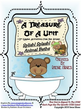 Treasures ~ A Treasure Of A Unit For 2nd Grade: Splish! Splash! Animal Baths