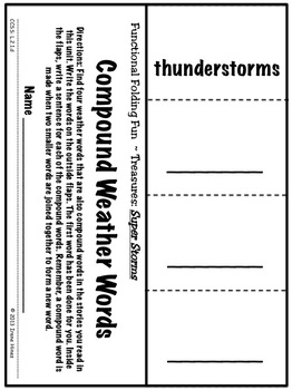 Treasures ~ A Treasure Of A Unit For 2nd Grade: Super Storms