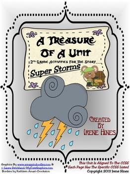 Treasures ~ A Treasure Of A Unit For 2nd Grade: Super Storms