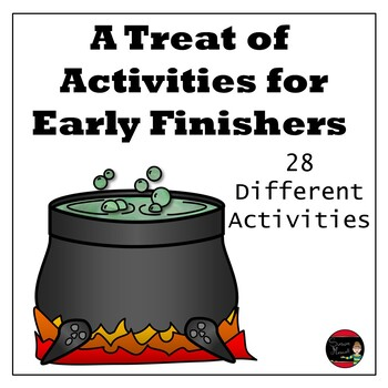 Halloween Activities for Early Finishers