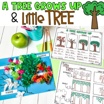 A Tree Grows Up & Little Tree Compare/Contrast Lesson Plan