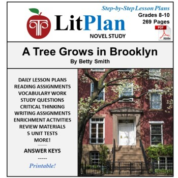 A Tree Grows in Brooklyn LitPlan Lesson Plans, Questions, Activities, Tests