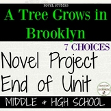 A Tree Grows in Brooklyn Unit Project Choice of 7 plus EDI