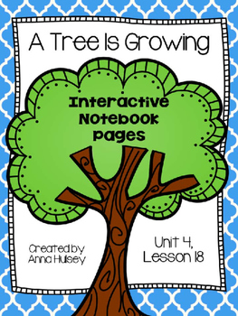 A Tree Is Growing (Interactive Notebook Pages)