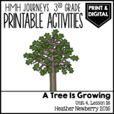 A Tree Is Growing: Journeys 3rd Grade Lesson 18 • Print &