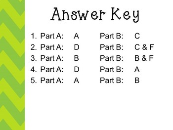 A Tree Is Growing by Arthur Dorros EBSR Comprehension Question Set