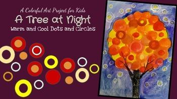 A Tree at Night