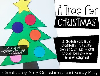 A Tree for Christmas - Christmas Tree Creativity Template Kit