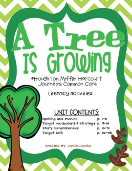 A Tree is Growing (Journeys Supplemental Materials)