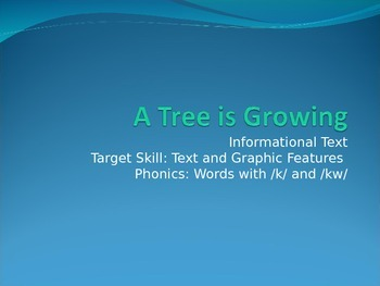 A Tree is Growing PPT Journeys Lesson 18