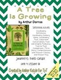 A Tree is Growing Mini Pack Activities 3rd Grade Journeys