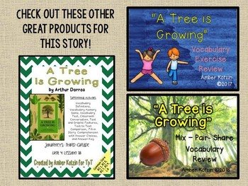 A Tree is Growing: Virtual Evidence Bag Journeys 3rd Grade Lesson 18