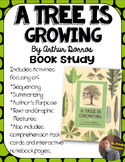 A Tree is Growing, by Arthur Dorros Book Study- Organizers and Notebook Pages