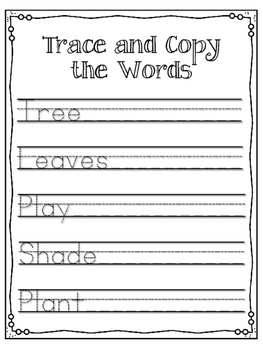 A Tree is Nice. Worksheets and Activies. My Father's World.  Janice May Udry
