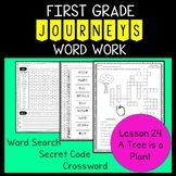 A Tree is a Plant - First Grade Journeys - Word Work