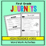 A Tree is a Plant - First Grade Journeys Word Work FREEBIE