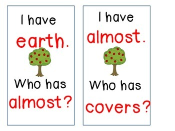 A Tree is a Plant I Have Who Has (Journeys Unit 5)