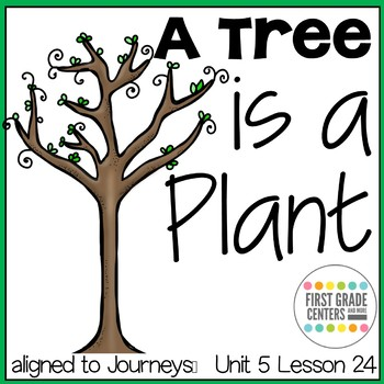 A Tree is a Plant: Journeys First Grade Unit 5 Lesson 24