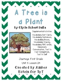 A Tree is a Plant Supplemental Activities 1st Grade Journeys Unit 5, Lesson 24