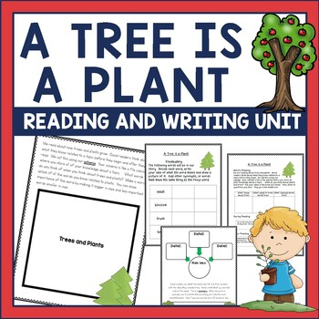 A Tree is a Plant by Clyde Bulla is a great nonfiction book for whole group modeling, to supplement a science unit on plants, as part of your Earth day unit, or for small group instruction. The unit includes comprehension materials for before, during, and after reading.