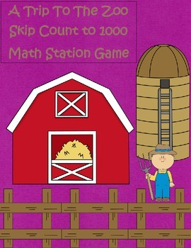 A Trip To The Zoo Skip Counting By 10's & 100's 2.NBT.2 Ma