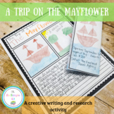 A Trip on the Mayflower Writing Activity