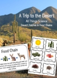Desert Habitat and Food Chains: A Trip to the Desert