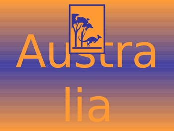 A Trip  to Australia (PowerPoint)